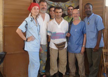 Apoyo al equipo local del Hospital Suno Gaya en Banikoara (Benin)