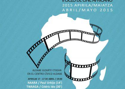 II Ciclo de cine africano AFRIKALDIA