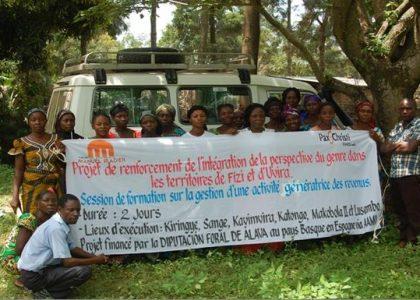 La AAMI continúa su apoyo a los procesos de Desarrollo Local Sostenible en el este de la RDC
