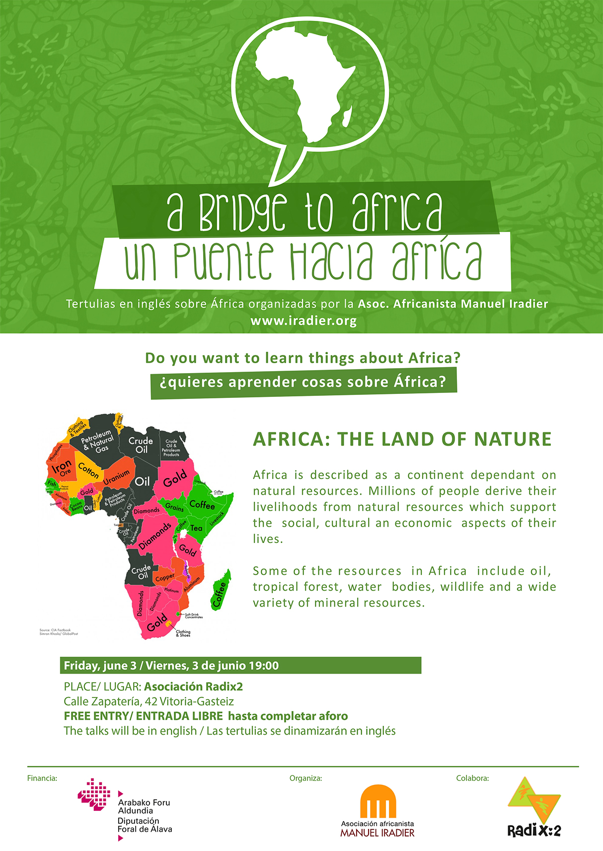 Tertulia en inglés: África, the land of nature