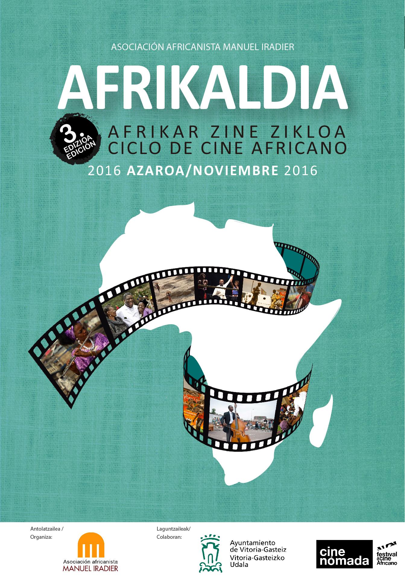 AFRIKALDIA III ciclo de cine africano