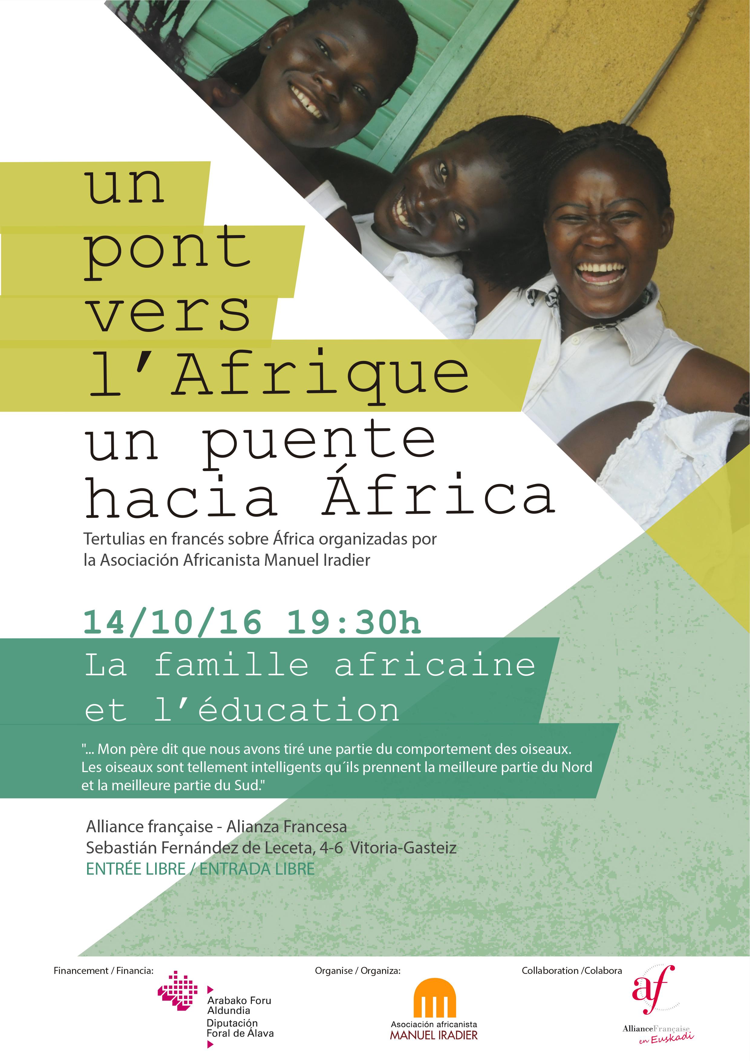 Tertulia en francés: La famille africaine et l'éducation