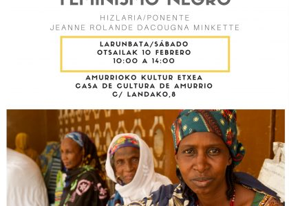 FEMINISMO BELTZA/NEGRO