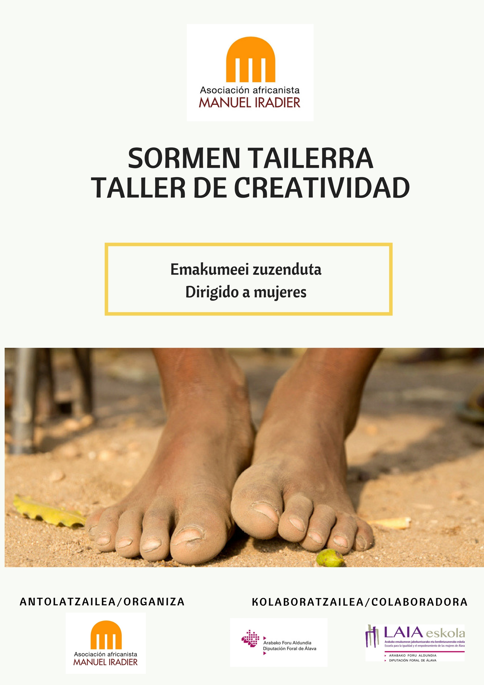 SORMEN TAILERRA                                 TALLER DE CREATIVIDAD