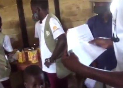 Ayuda de emergencia en los campos de Lusenda y Mulungwe